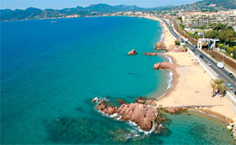 plage cannes Beaches