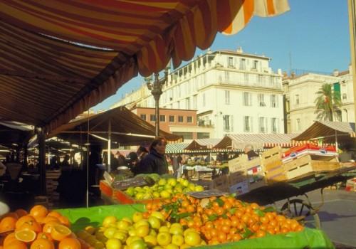 Marché du Cours Saleya, Nice.